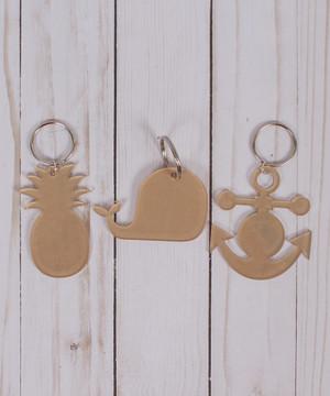Clear Acrylic Keychains