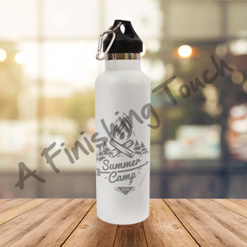 G159 - 26oz Sport Bottle with Carabiner Lid