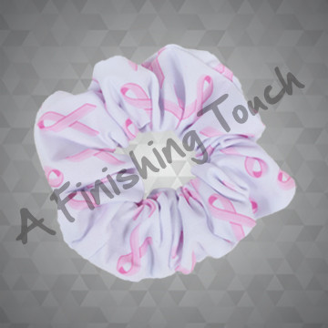 1433- Large Sublimated Scrunchie