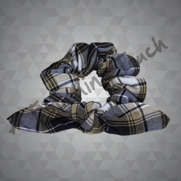 *1467- Fabric Bow Scrunchie