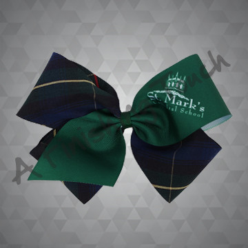 *1469P- Fabric/Sublimation Fluffy Bow