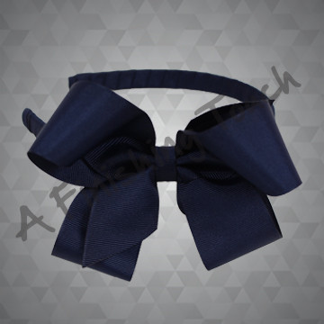 *1471- 5in Fluffy Bow on Medium Headband