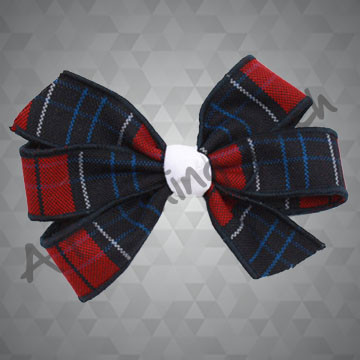 254- Plaid Cartwheel Bow