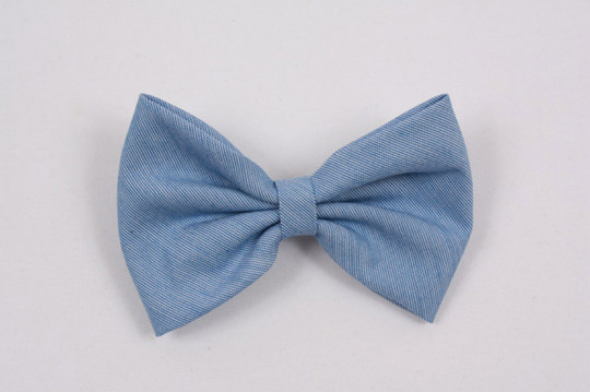 290- Plaid or Solid Fabric Bow