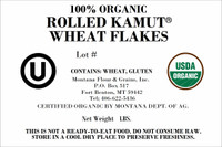 100% Organic Rolled KAMUT® Wheat Flakes