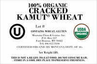 100% Organic Cracked Kamut Wheat