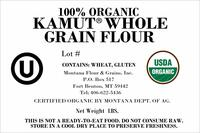 100% Organic Whole Grain KAMUT® Flour