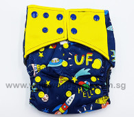 Bamboo Charcoal Cloth Diaper - UFO