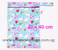 Wet Bag 30x 40cm  - Pool Party