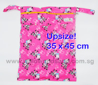 Wet Bag 35 x 45cm  - Zesty Zebra