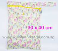 Wet Bag 30x 40cm  - Unicorn Candy