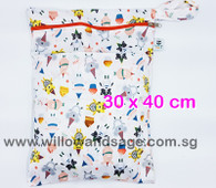 Wet Bag 30x 40cm  - Let Them Eat Cake