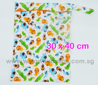Wet Bag 30x 40cm  - Safari Frenzy