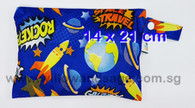 Wet Bag 14 x 21cm - Galactic Rocket