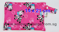 Wet Bag 14 x 21cm - Zesty Zebra