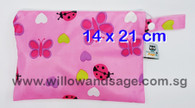 Wet Bag 14 x 21cm - Pink Petals