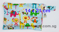 Wet Bag 14 x 21cm - Animal Wonderland Blue