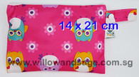 Wet Bag 14 x 21cm - Charming Owls