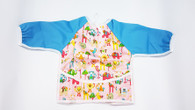 Full Body Bib - Animal Wonderland Blue