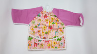 Full Body Bib - Animal Wonderland Pink