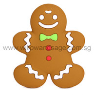 Teether - Gingerbread Man