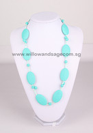 Teething Necklace FK002 Turquoise