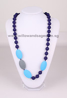Teething Necklace FK004 Navy