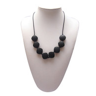 Teething Necklace FK023 Black