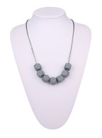 Teething Necklace FK044 Grey