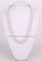 Teething Necklace NK029 Pastel Lilac