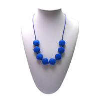 Teething Necklace FK023 Navy Blue