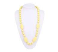 Teething Necklace FK006 Cream Yellow