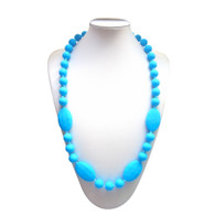 Teething Necklace FK006 Sky Blue