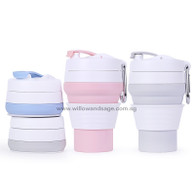Collapsible Travel Cup Pink