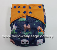 Bamboo Charcoal Cloth Diaper - Cactus Cuties