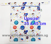 Wet Bag 35 x 45cm  - Astronauts