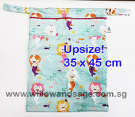 Wet Bag 35 x 45cm  - Cheerful Mermaid