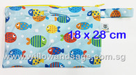 Wet Bag 18 x 28cm - Fishy Business