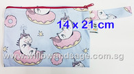Wet Bag 14 x 21cm - Unicorn Doughnut