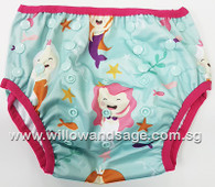 Swim Diaper - Playful Mermaid