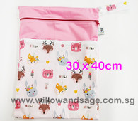 Wet Bag 30x 40cm  - Floral Crown