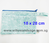 Wet Bag 18 x 28cm - Origami Blue