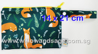 Wet Bag 14 x 21cm - Fox in Meadow