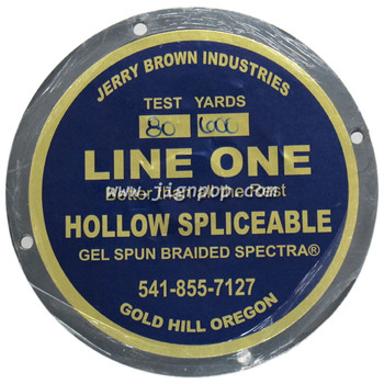Jerry Brown Hollow Spectra 80lb Line
