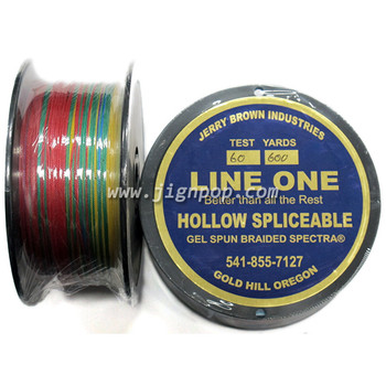 Jerry Brown Hollow Spectra X-10 60lb Line