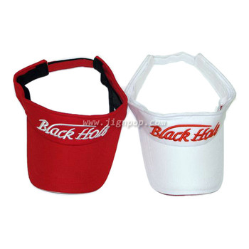Black Hole Visor Half Cap