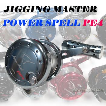 Jigging Master Power Spell PE4 Reel