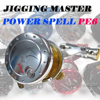 Jigging Master Power Spell PE6 Reel
