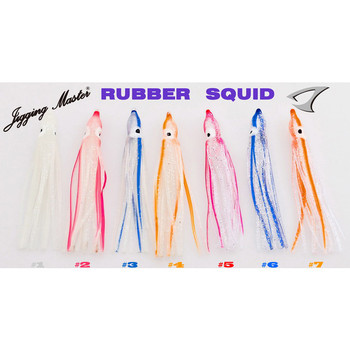 Jigging Master Rubber Squid