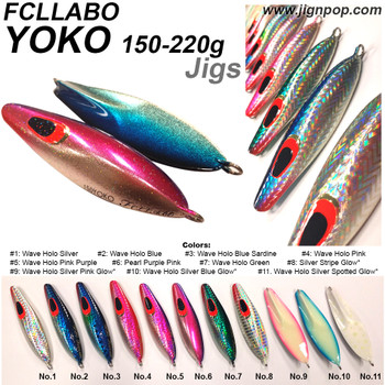 FCLLABO YOKO Jig (150g~220g)